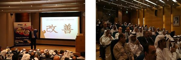 ADCO professionals participating in the KAIZEN Workshop